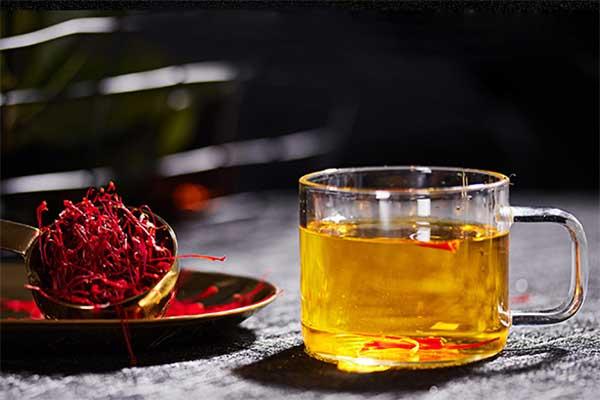 藏红花茶美容养颜