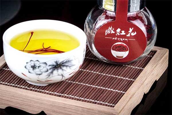 藏红花茶调节月经