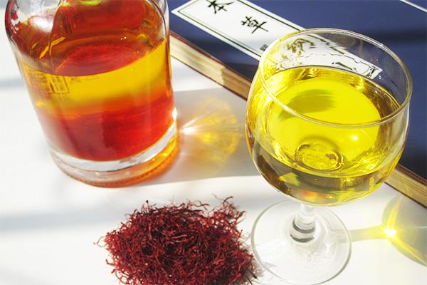 藏红花和藏红花酒