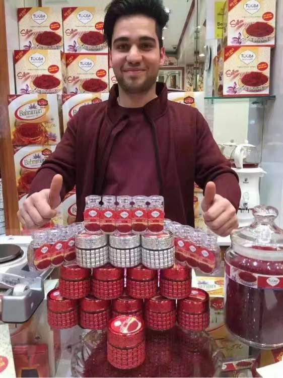迪拜出售的藏紅花