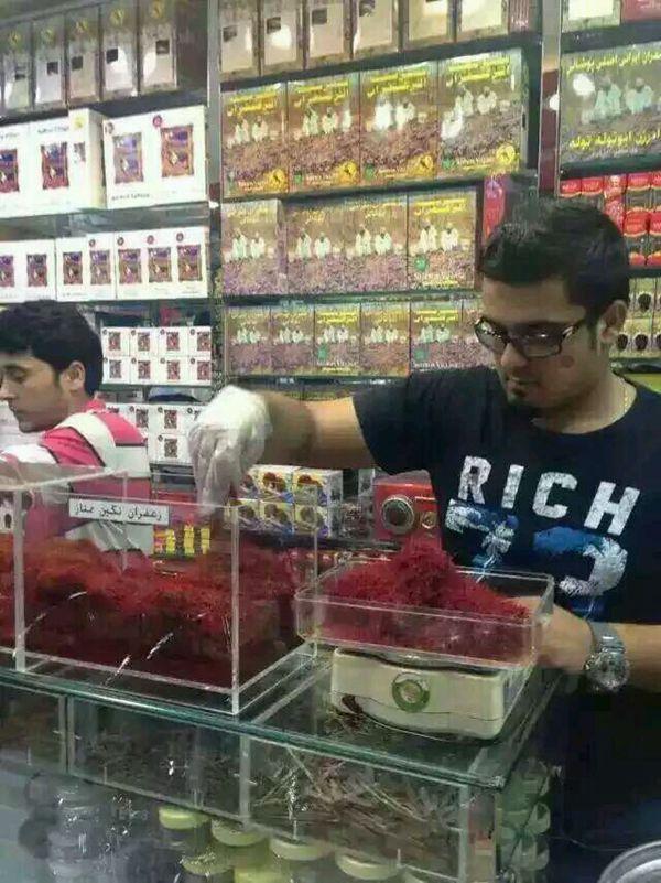 迪拜藏紅花商店