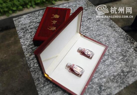 精美的禮盒裝藏紅花