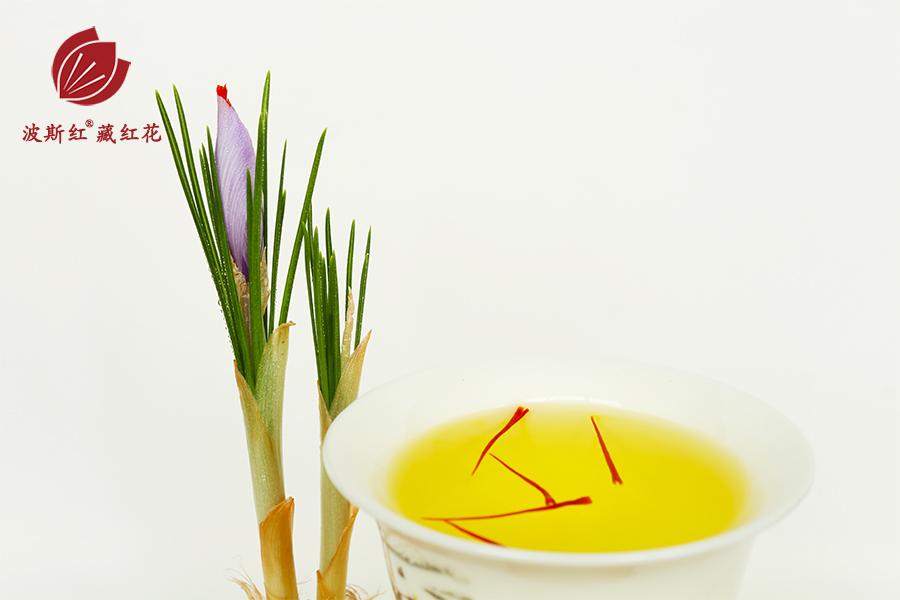 藏紅花和藏紅花茶