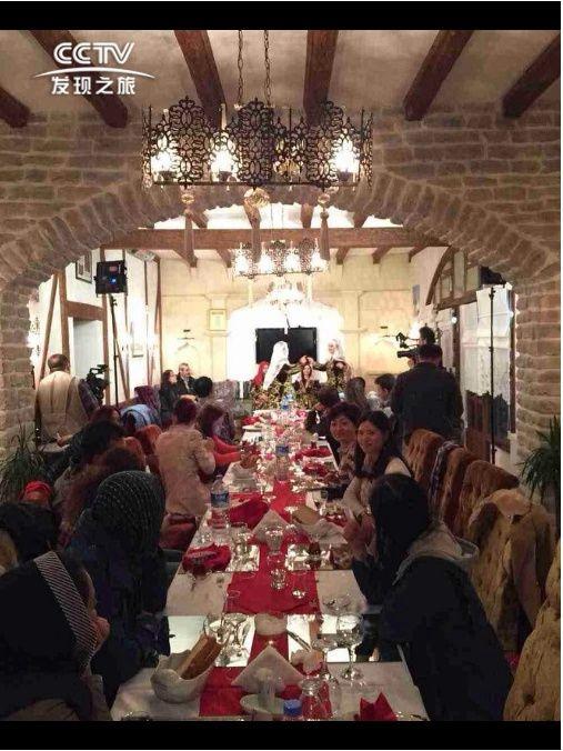 番紅花城的晚餐
