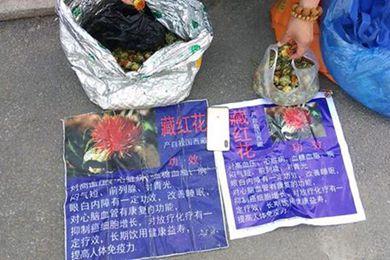 草红花冒充藏红花包治百病 7人被抓