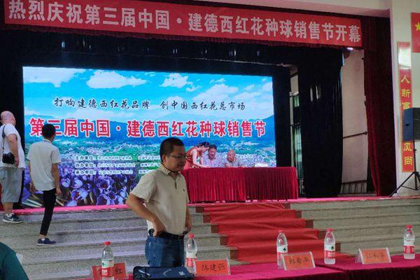 第三屆中國建德西紅花種球銷售節