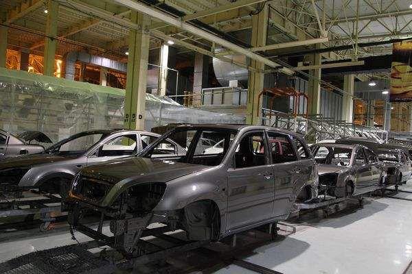伊朗汽車工業