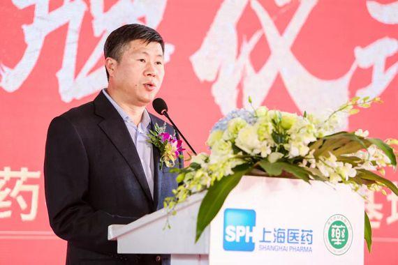 中共崇明区委常委、副区长吴召忠致辞