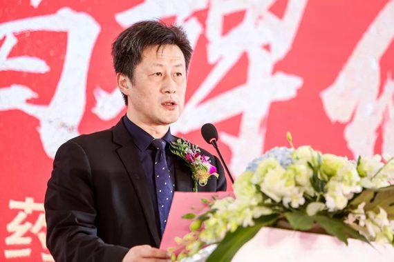 上海市药材有限公司总经理余卫东致辞