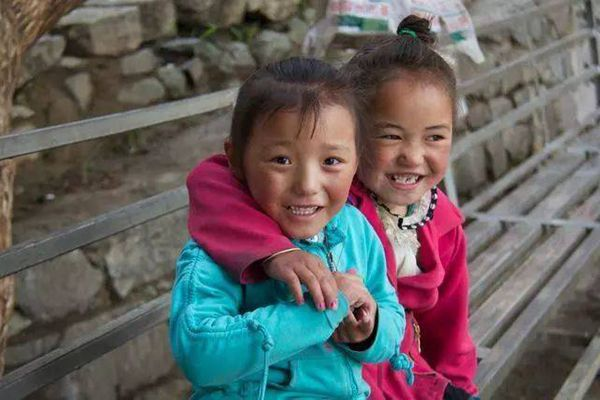 喜馬拉雅地區的兒童