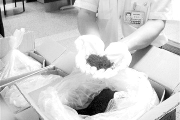 北京海關查獲的走私藏紅花