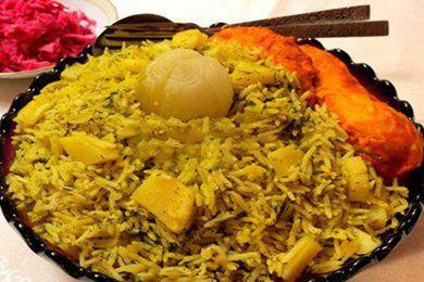 伊朗特色美食藏红花鸡肉土豆抓饭的做法