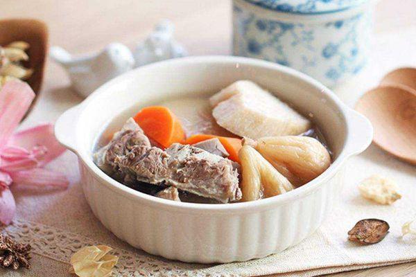 藏紅花煲湯