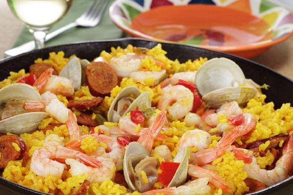 西班牙西红花海鲜饭