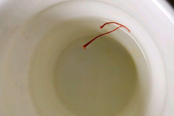 泡水法辨別真假藏紅花