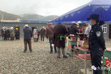 青海省久治县公安局智青松多派出所开展辖区虫草市场检查