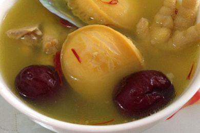 藏红花鲍鱼鸡汤