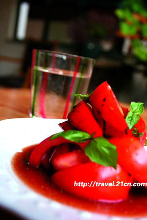 北京藏紅花餐廳的美食