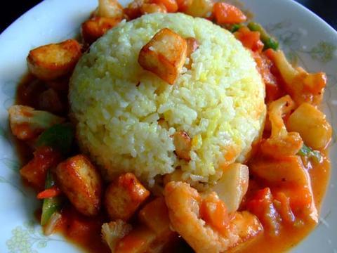 印度藏紅花飯