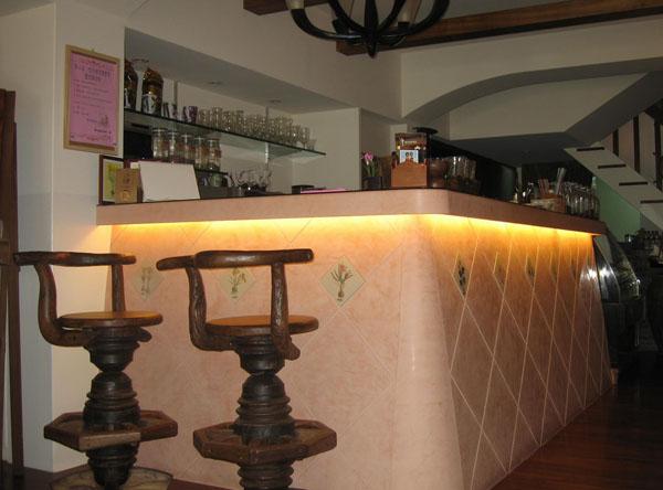 赛凡提斯咖啡店吧台