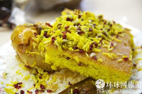 伊朗藏紅花美食