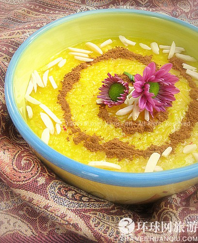 伊朗藏紅花粥