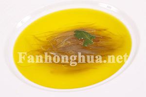 藏红花烩海虎翅
