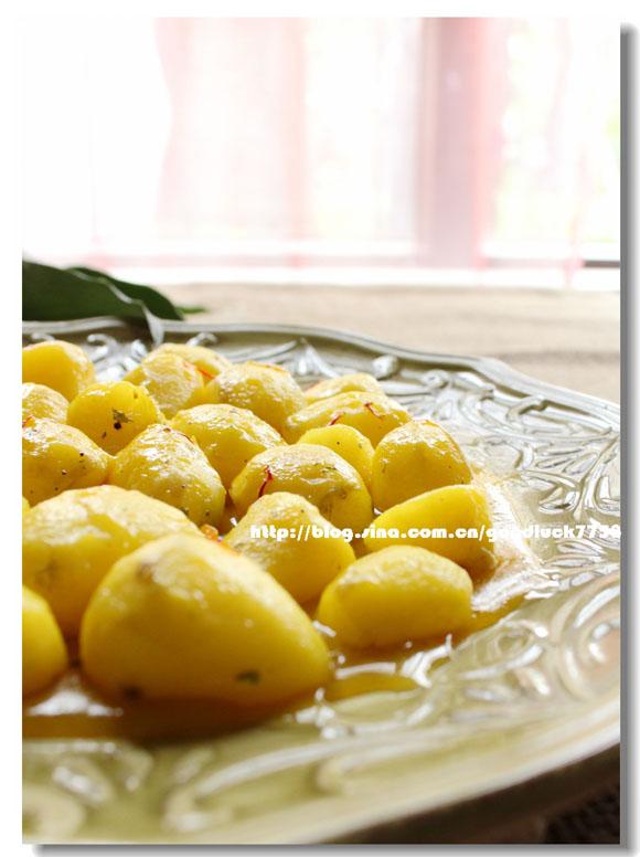藏紅花燴小土豆