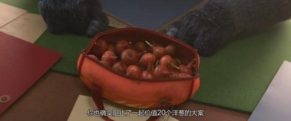 就是这袋子番红花球茎,被警长认为是洋葱