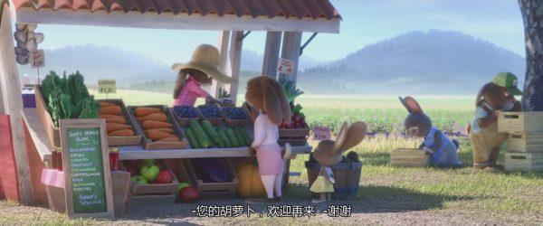 注意看,有没有发现田里的蓝紫色小花?