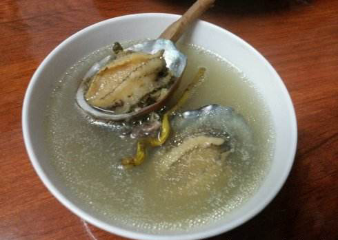 石斛鲍鱼汤