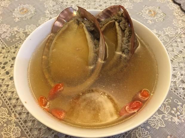 石斛鮑魚湯