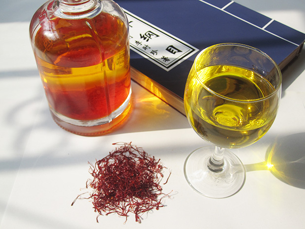 藏紅花泡酒