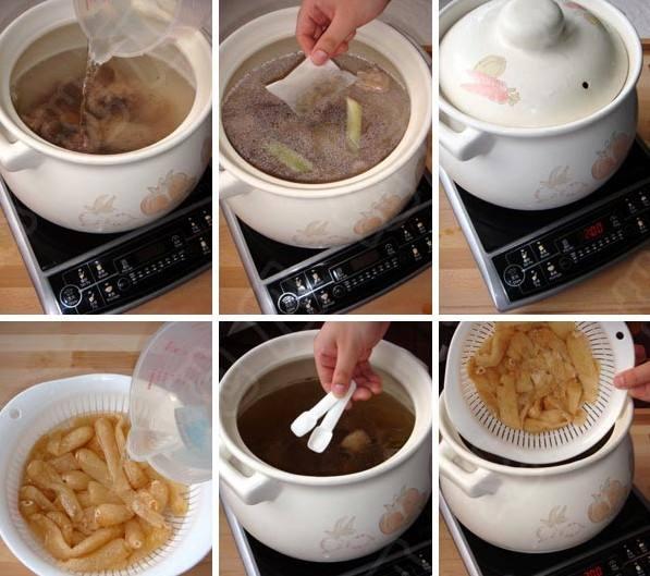 石斛竹荪老鸭汤做法