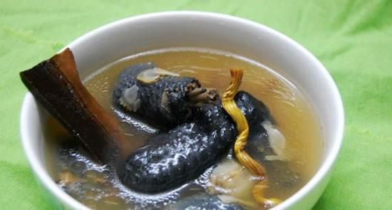 靈芝石斛洋參湯