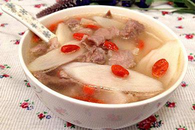 石斛淮山枸杞瘦肉汤的做法和功效