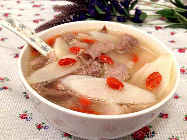 石斛淮山枸杞瘦肉湯