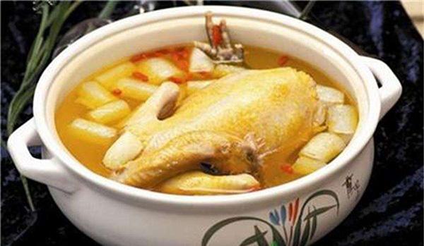 石斛枫斗鸡煲