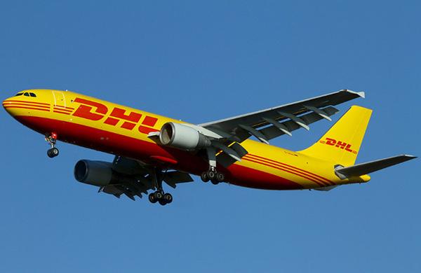 DHL國際快遞飛機