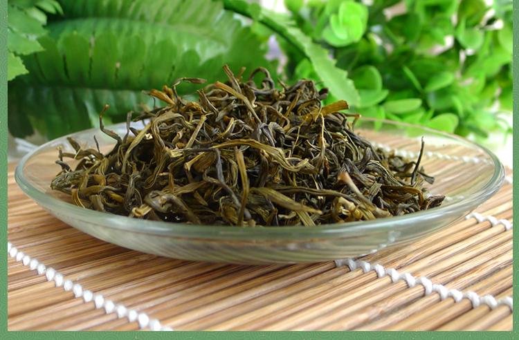 铁皮石斛叶做成的茶