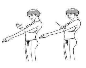 拍打肘窝的方法