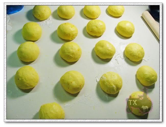 發酵好后分成小面團