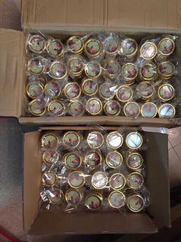 阿拉伯玻璃小金瓶144个一箱