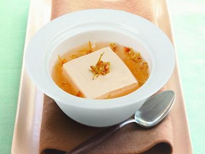 石斛花炖豆腐