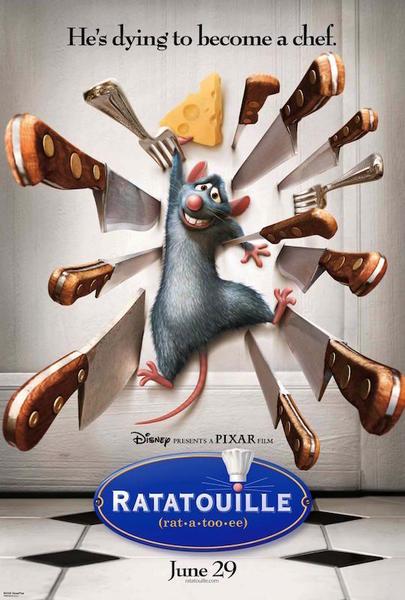 《料理鼠王》海报
