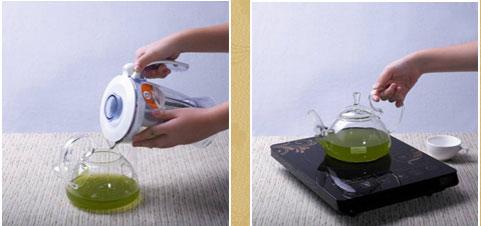 加熱鐵皮石斛汁