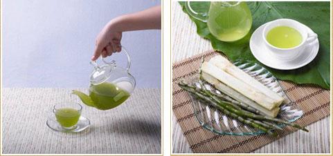 铁皮石斛汁里加入冰糖或者蜂蜜